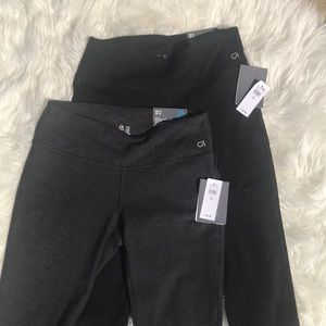 Lot of 2 GapFit Capri leggings